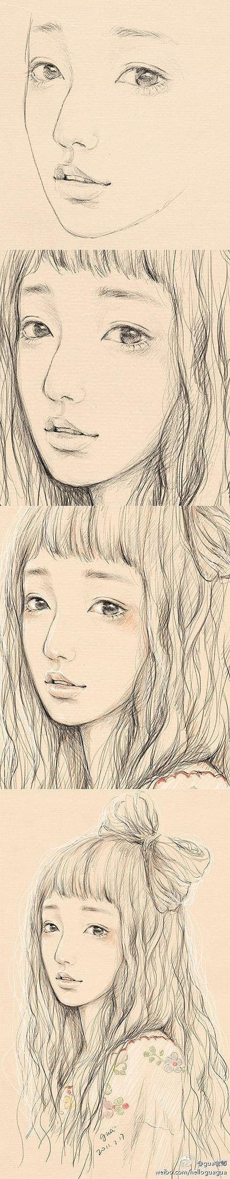 【绘画教程】素描 插图 教程 植物/花卉 风光/摄影 插画/手绘 *-**-*、很美的MM。。。&br&