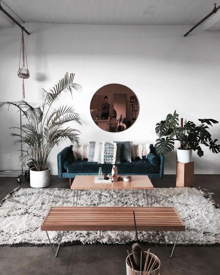 83 minimal boho interior design boho room decor ideas for Minimal living room decor
