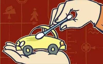 """Solução  limpadora para carros, carpetes e sofás   """" 1 LITRO DE ÁGUA + 1/2 COPO VINAGRE DE ÁLCOOL + 1 COL. SOPA BICARBONATO SÓDIO + 1/4 COPO DE ÁLCOOL + 1 COL. SOPA AMACIANTE.  Dica: como o vinagre e o bicarbonato efervescem usados juntos, procure fazer a mistura num recipiente grande para depois colocar no frasco menor e na seguinte ordem:  1 – água 2 – álcool 3 – bicarbonato 4 – vinagre 5 – amaciante  Borrife sobre tecidos em geral: sofás, almofadas, caminhas de cachorro, cortinas…"""