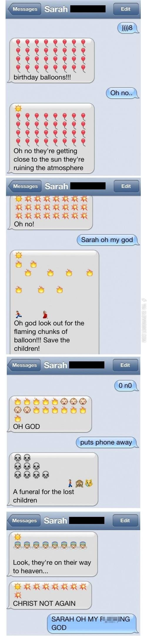 And now, an emoji story.