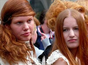 The cooler, cloudier climes for northern Europe make for more redheads—particularly in Scotland and Ireland, a researcher says. About 8% of Scots sport a ginger mane, to less than 2% of all Europeans. The theory, Emily Pritchard tells the Times of London, is that genetic traits that allow sun-unfriendly red hair and fair skin didn't die out as humans moved from Africa northward.