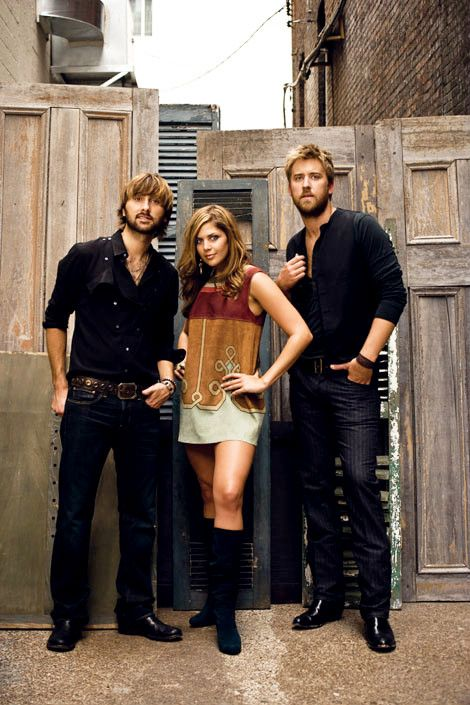 Lady Antebellum. Been so addicted to them lately!