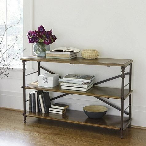 low industrial bookcase 1