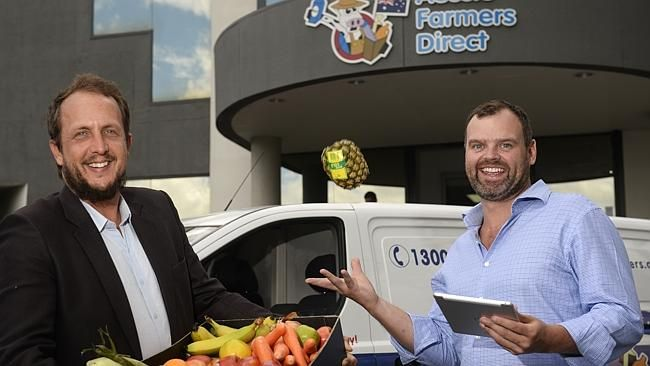 """Aussie Farmers Direct CEO, Jordan Muir says the food delivery service is all about making it convenient for our customers. """"We have to make sure our customer has the best shopping experience in the world."""""""