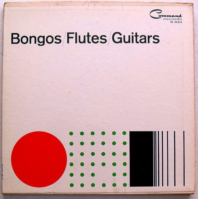 1960 Command Records BONGOS FLUTES GUITARS vintage LP record album vinyl 1960s by Christian Montone, via Flickr