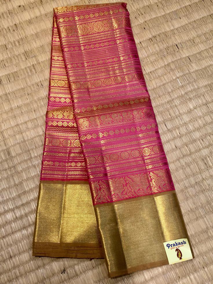 Traditional saree from prakashsilks.