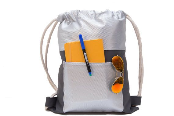 hipster backpack drawstring backpack Sackpack by SneakyTeaky