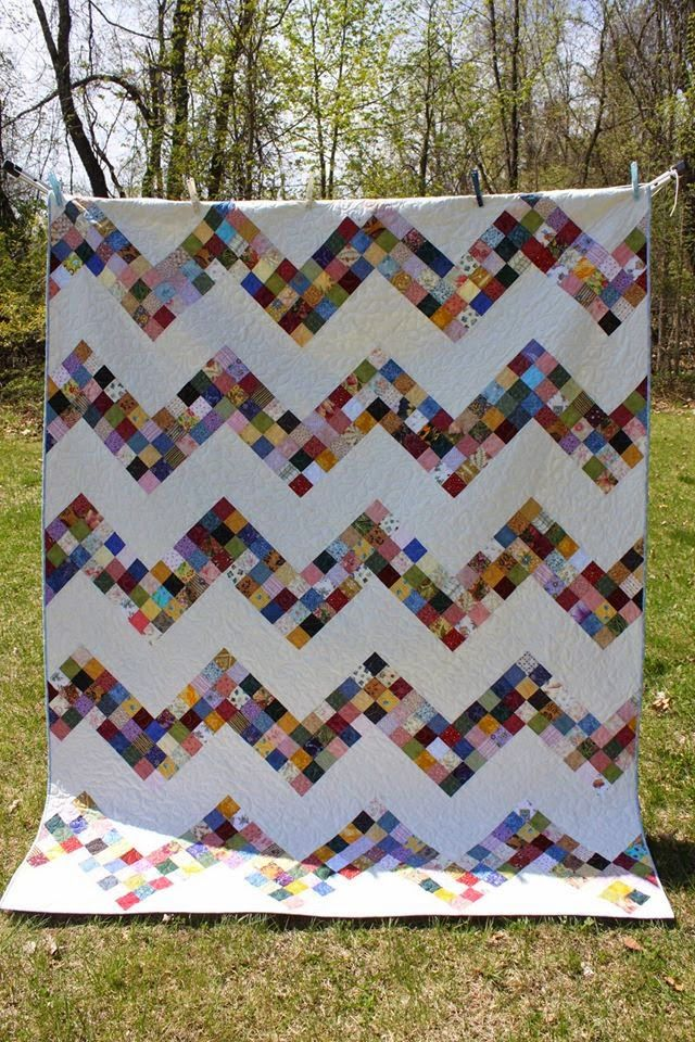 Blooming Peaks Quilt (Free Pattern by Moda)
