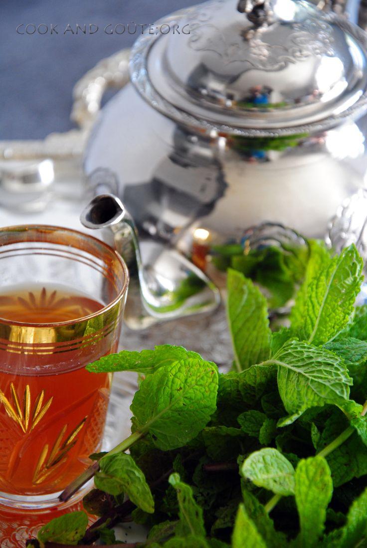 Thé à la menthe façon marocaine