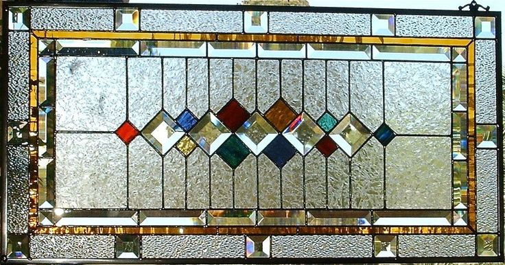 Custom Made Traditional Stained Glass Window/Panel by Glassmagic ...