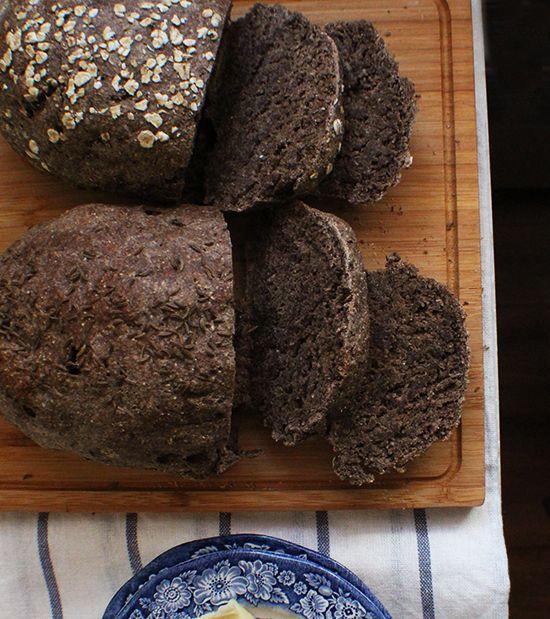 Hearty Black Pumpernickel Bread Breads Amp Rolls 2 In 2019