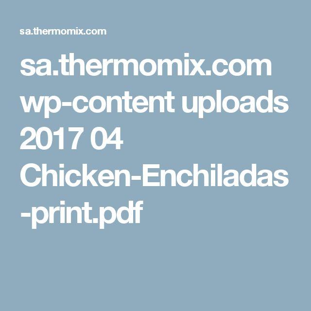 sa.thermomix.com wp-content uploads 2017 04 Chicken-Enchiladas-print.pdf