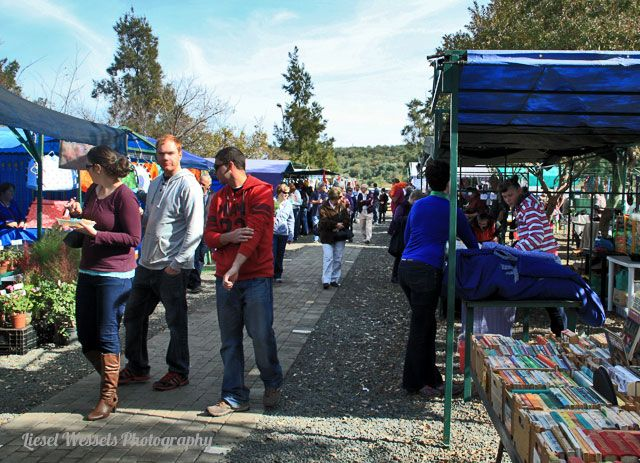 Langenhovenpark Boeremark. Every Saturday in Bankovs Boulevard Street, right next to Spar. Photo by Liesel Wessels
