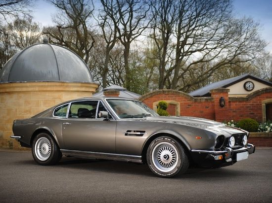 "Aston Martin V8 Vantage - ""The living daylights"" 1987"