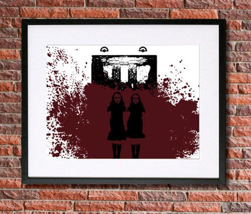 The Shining Twins Poster  The Grady Twins  by pennyPRINTABLE
