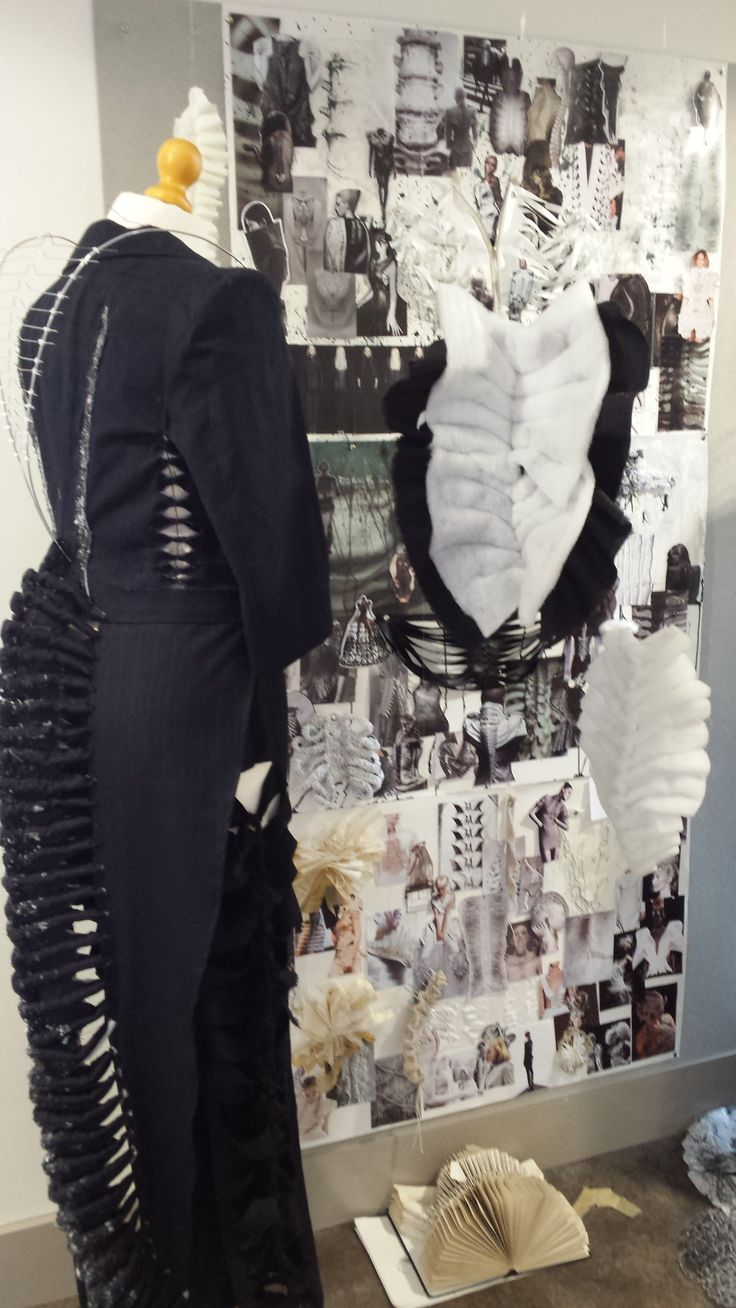 Cindy Ng's Skeleton Inspired Fashion Project