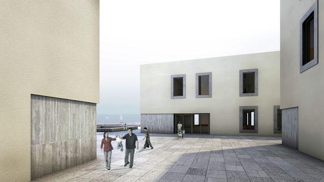 Proyecto del mes: Joan Astalle > Centro Cultural en la Barceloneta