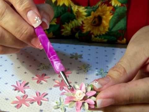 ▶ Handmade Paper Flowers - YouTube http://www.youtube.com/user/JustafewDesigns