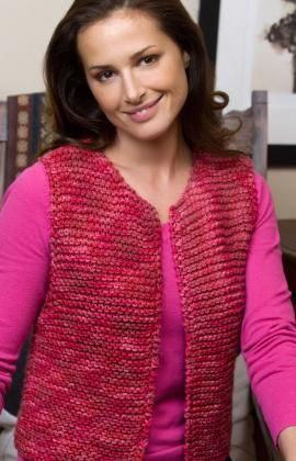 Knitting Patterns Galore - Easy Going Vest