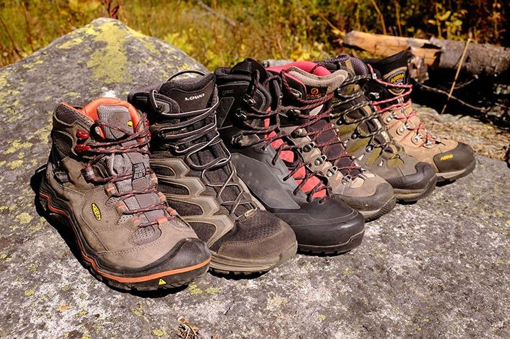 Hiking boots vary widely from light and flexible to heavy and supportive