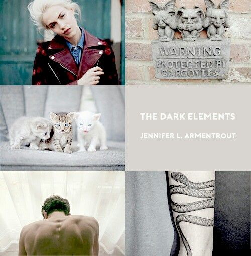 The Dark Elements series by Jennifer Armentrout
