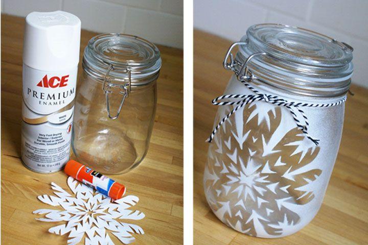 DIY - Paper Snowflake Stencil