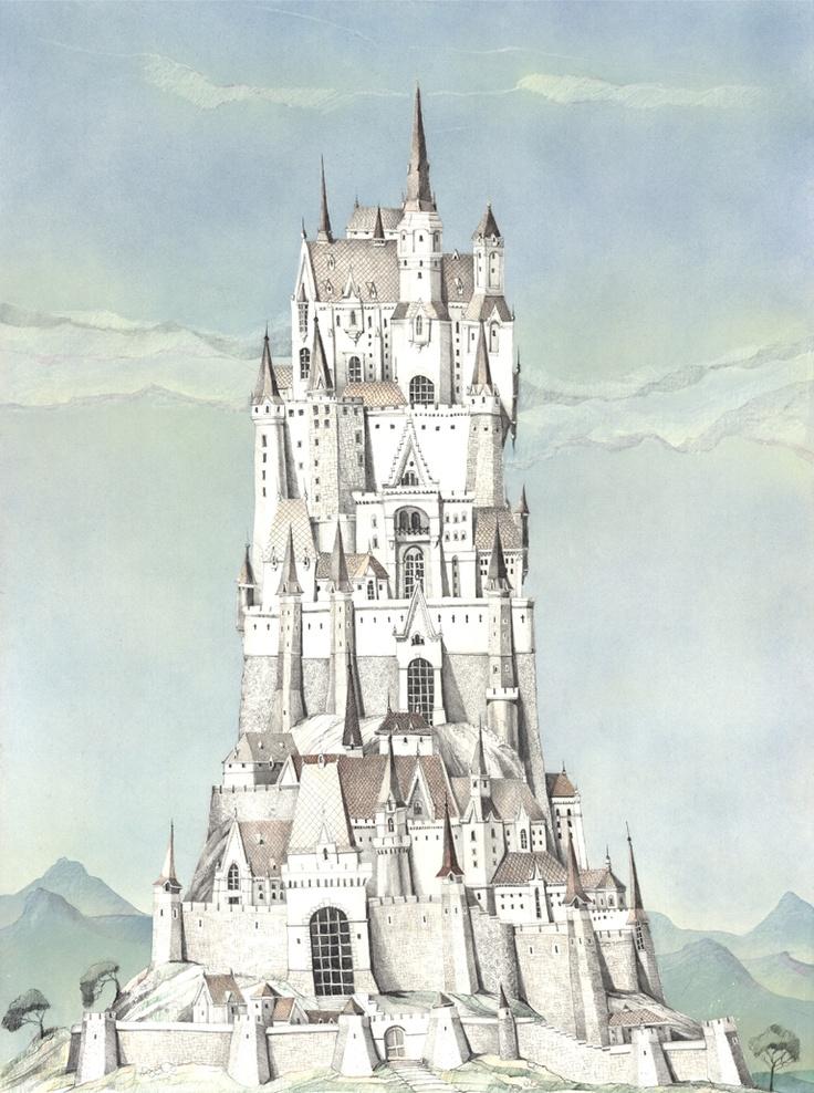 12 best images about ART - My Fantasy Castles on Pinterest ...