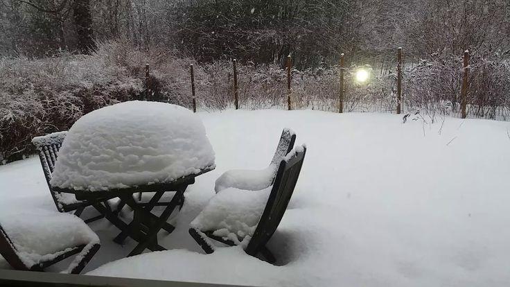 2018 maaliskuun 13 lumisade