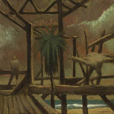 Artist:RICK AMOR, By The Sea,  $7,000 - 10,000