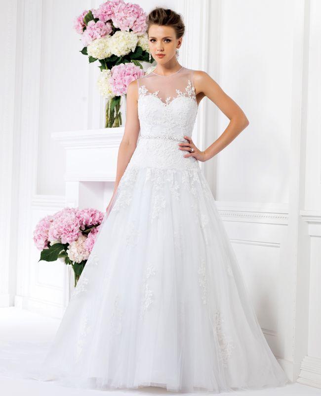 Jasmine Bridal 2014 Wedding Dress http://trendybride.net/jasmine-collection-spring-2014-wedding-dresses/ #wedding #dresses