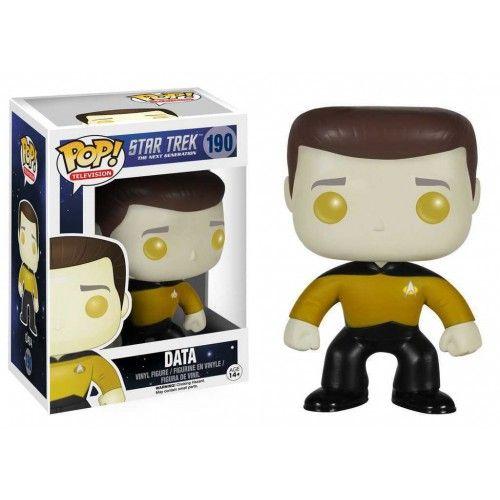 Funko Pop! Data, Next Generation, Star Trek, Guerra nas Estrelas, Nova Geração, Funkomania, Filmes, Séries