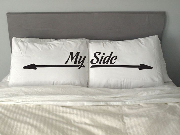 My Side Only Pillow Funny Gift Free Shipping de HOTTEE sur DaWanda.com