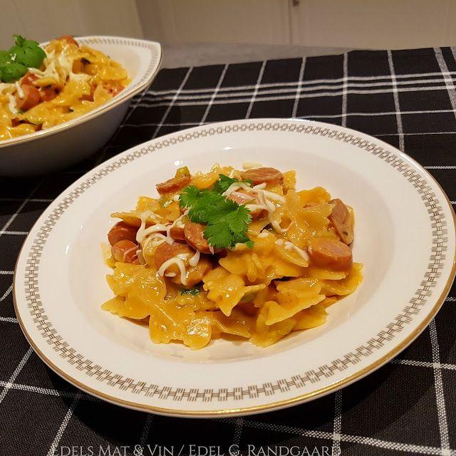 Edels Mat & Vin: One-Pot Pasta med pølser !!