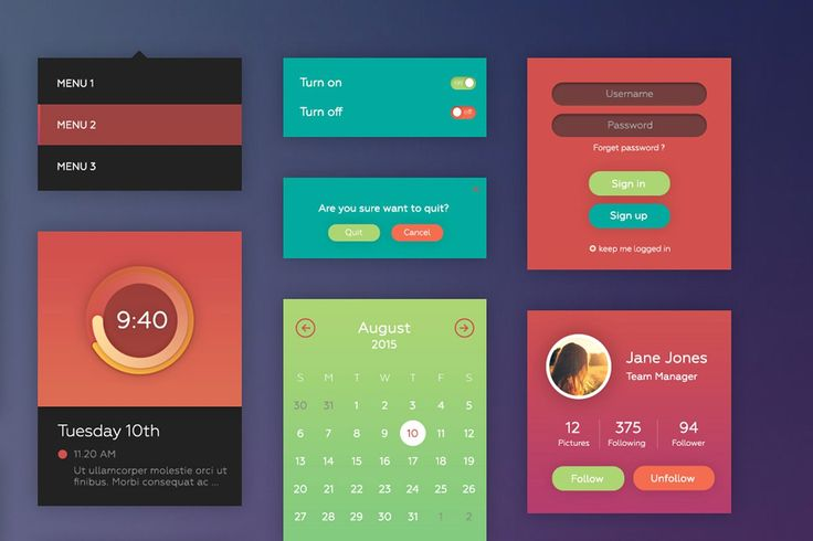 Prop UI Kit by tintins on @creativemarket
