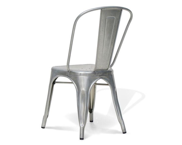 la silla tolix un mueble vintage con estilo industrial que est de moda