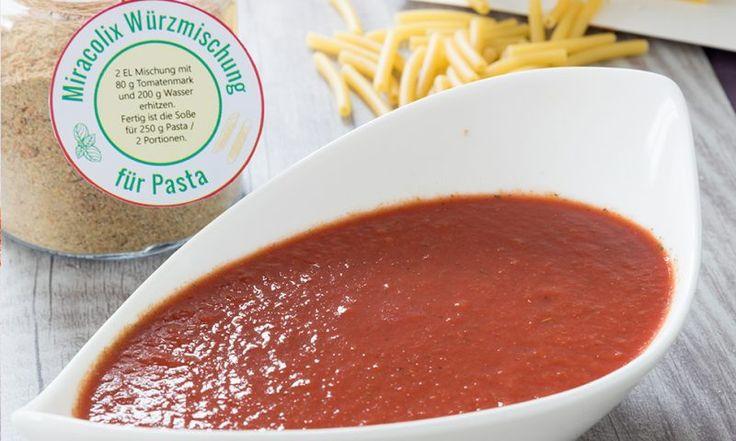 Unsere Würzmischung für Pasta Miracolix – MixGenuss Blog