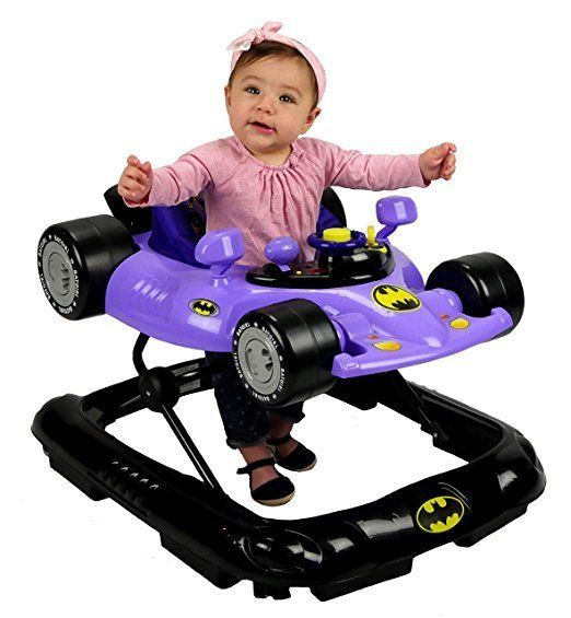 WB KidsEmbrace Baby Batgirl Activity Walker, Car with Music and Lights #warnerbro