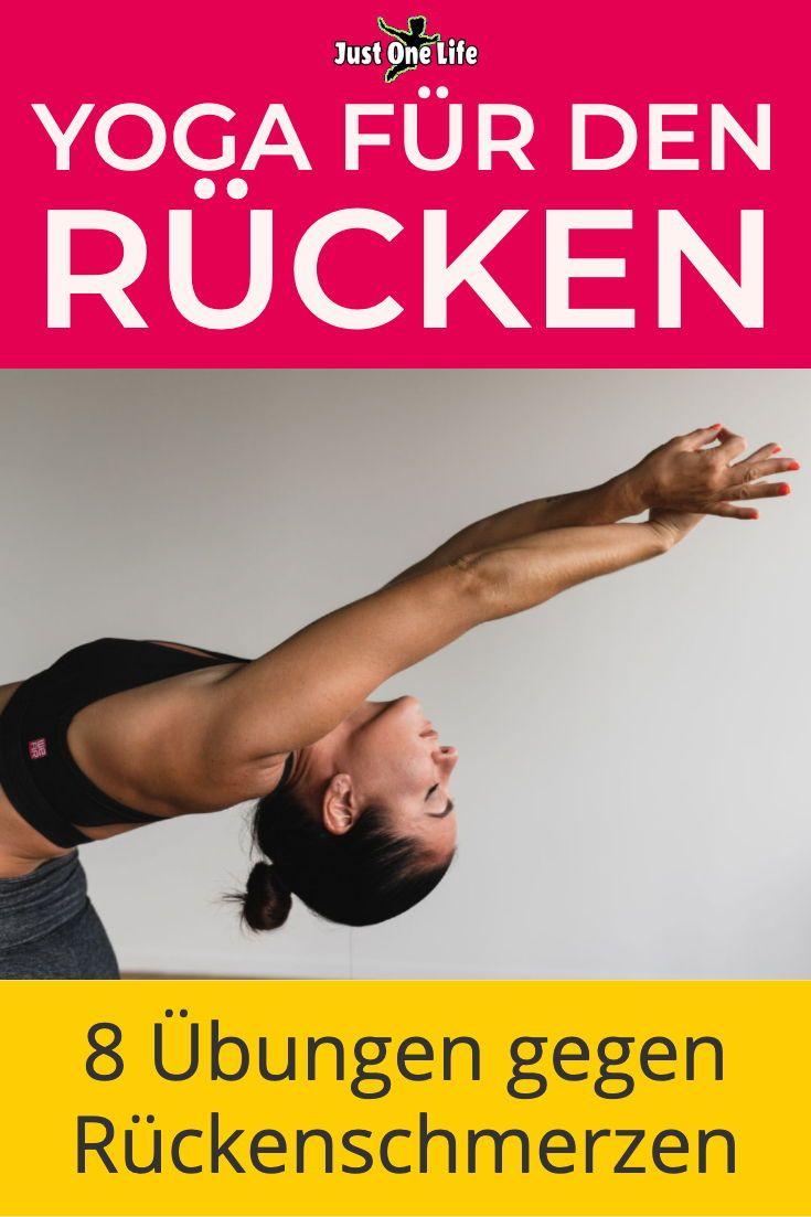 Yoga für den Rücken - 8 Übungen gegen Rückenschmerzen..