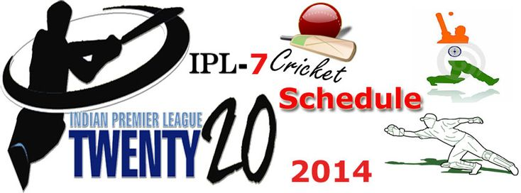 Indian Premier League 2014 will be host by UAE and India during from 16 April 2014 to 1 June 2014. This Indian Premier League Twenty20 (IPL7) playing 8 teams. All Cricket Lover(Fans) will enjoy this summer vaction with IPL T20 2014 Cricket series.http://goo.gl/HYQLrW