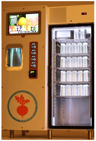 USA Technologies has partnered with JuiceBot, a California based technology company reimagining food and beverage distribution systems. JuiceBot's first kiosk machine protects raw, cold pressed juice from light and heat oxidation while eliminating pre-packaging.  The company will leverage USAT's A