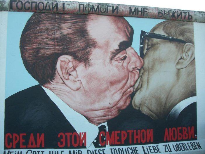 Berlinmurens Historie Den Kolde Krig East Side Gallery Berlin Wall Berlin Art