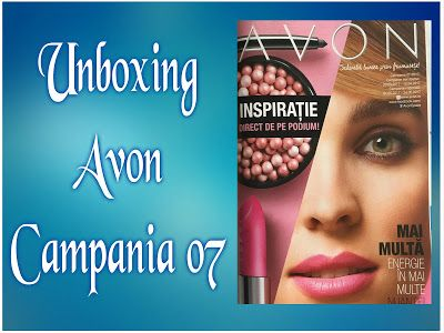 Cerasela Blog: Unboxing Avon Campania 07/2017
