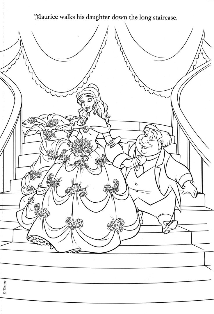2017 07 31 coloring pages frozen coloring pages frozen 71 comments feed - Coloring Page Of Princess Belle And Her Father