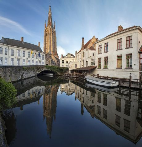 Отражения Брюгге, Бельгия. Автор фото – АБ: nat-geo.ru/photo/user/296085/