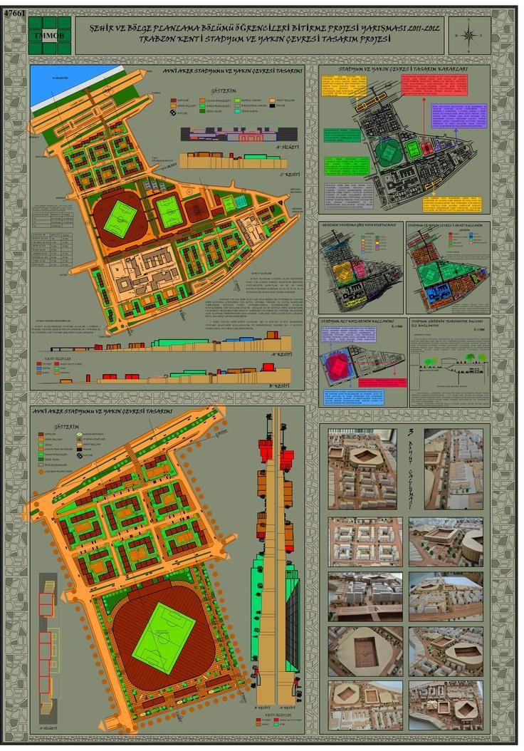 Şehir ve Bölge Planlama Bölümü Öğrencileri Bitirme Projesi Yarışması 2011- 2012 2 Nolu Pafta [jans'ın istediği renk]