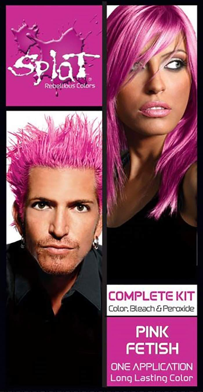 15 Best Pink Hair Dyes To Use At Home Splat Hair Dye Pink Hair Dye Best Pink Hair Dye