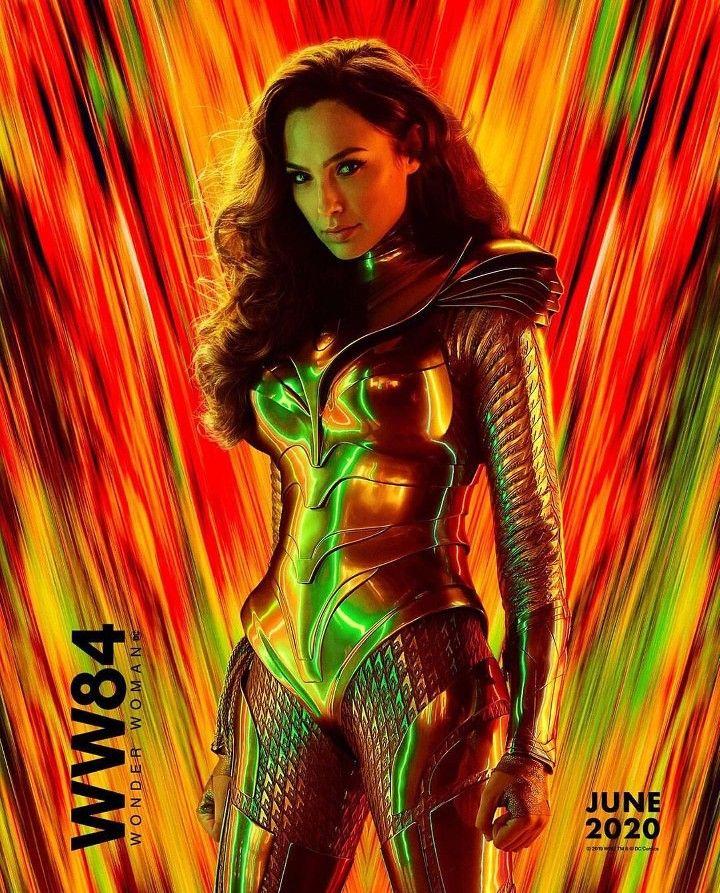 Gal Gadot For The Poster Of Wonder Women 1984 In Theaters June 2020 Wonder Woman Gal Gadot Women