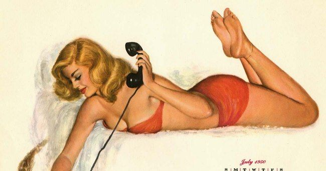 The Hottest Pin-Up Girls from the 1950s
