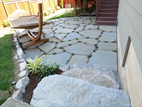 How To Lay Flagstone Outside