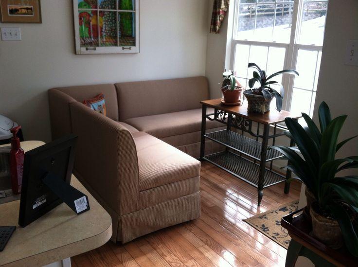 Custom Made Upholstered Corner Bench Seating In Zeyvas Garage Sale Ambler PA For 500